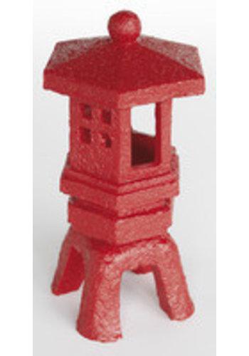 Zen deco lantaarn rood