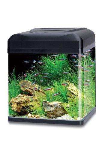 HS Aqua aquarium lago 30 LED zwart