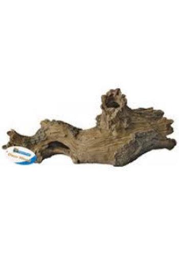 Superfish log hout, boomstam L 33x12x13 cm.