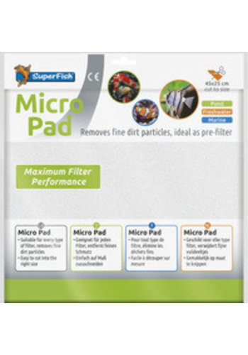SuperFish Micro pad 45x25 cm