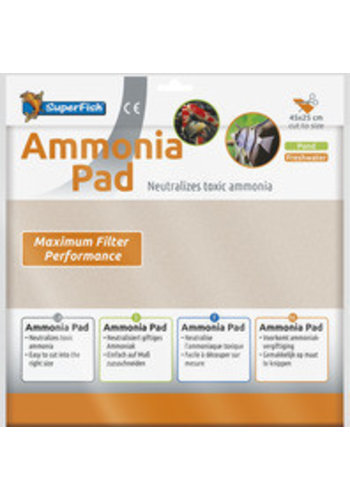 SuperFish Ammonia Pad 45x25 cm
