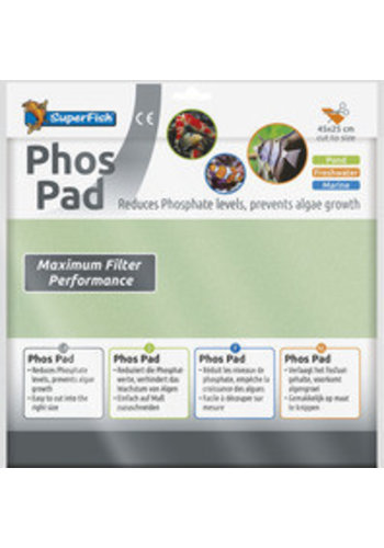SuperFish Phos Pad 45x25 cm