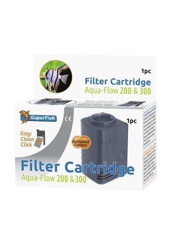 SuperFish  Aqua-Flow 200/300 Easy Click cartridge 1 stuk