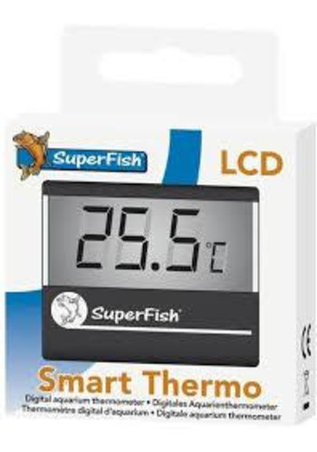 SuperFish Smart Thermo, Aquarium thermometer Zwart