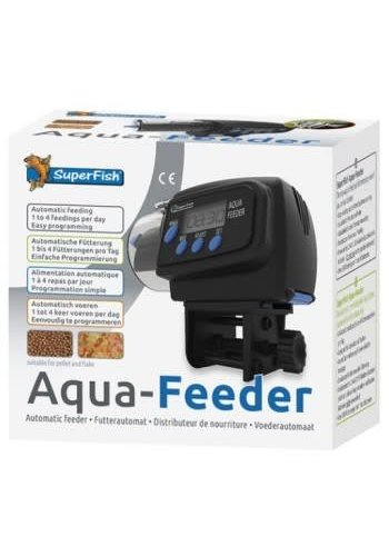 SuperFish Aqua Feeder Zwart
