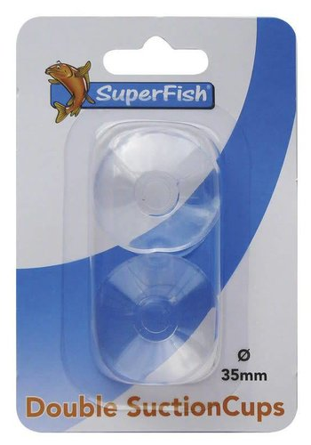 SuperFish dubbele zuiger 35mm blister 2st.