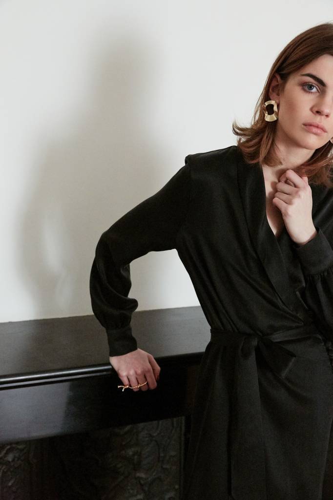 La Collection Eleni dress black