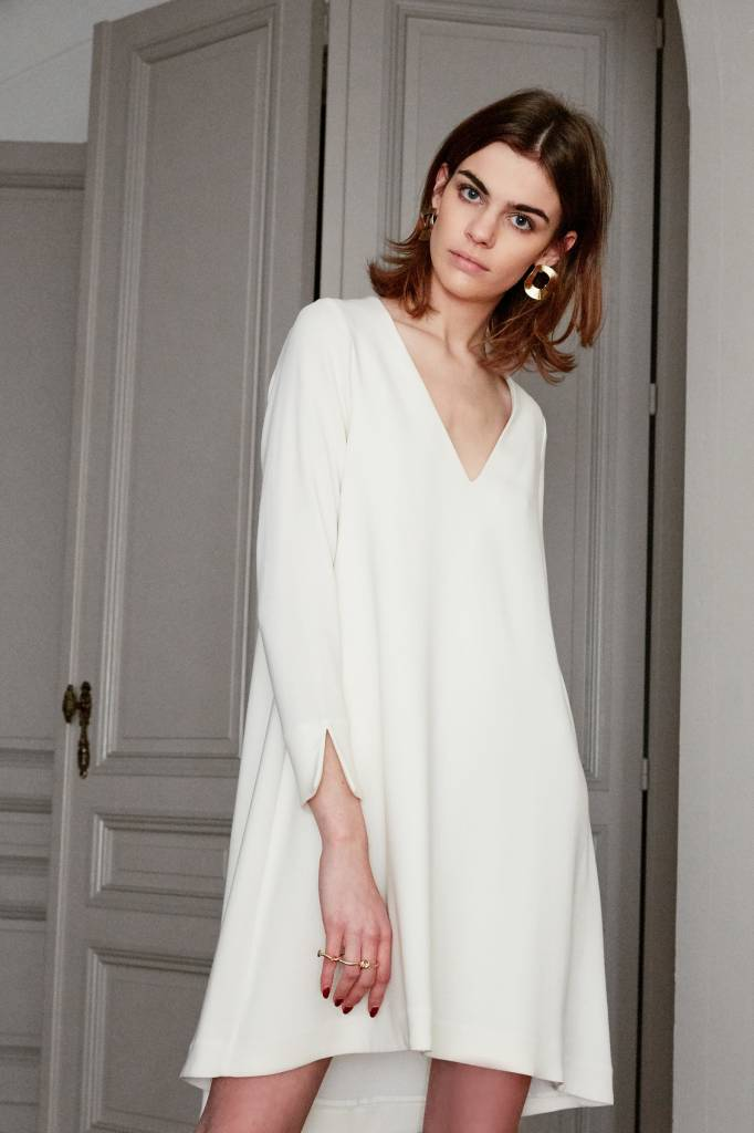 La Collection Clemence dress off-white