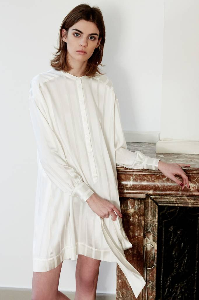 La Collection Colette dress off-white