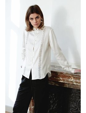 La Collection Gabrielle blouse off-white