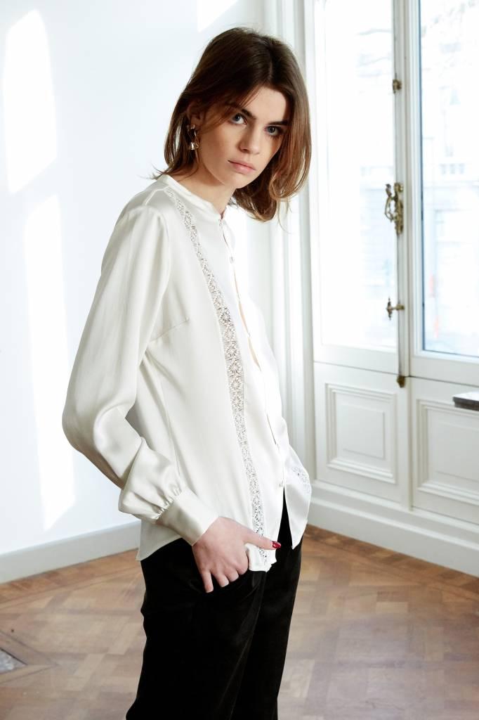La Collection Gabrielle blouse off-white