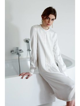 La Collection Agathe dress off-white