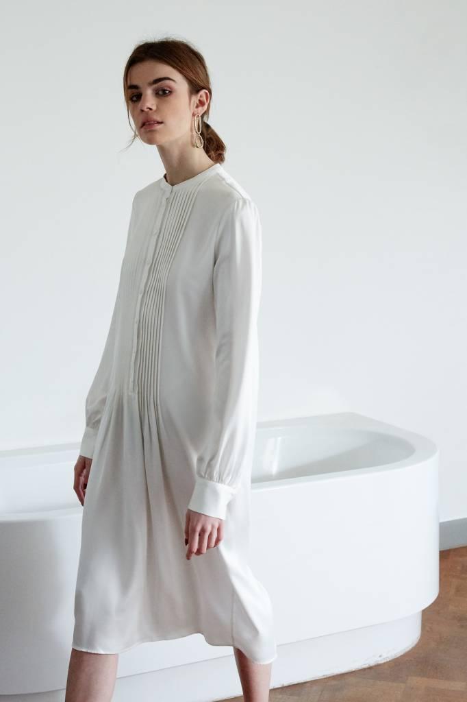 La Collection Agathe dress off-white