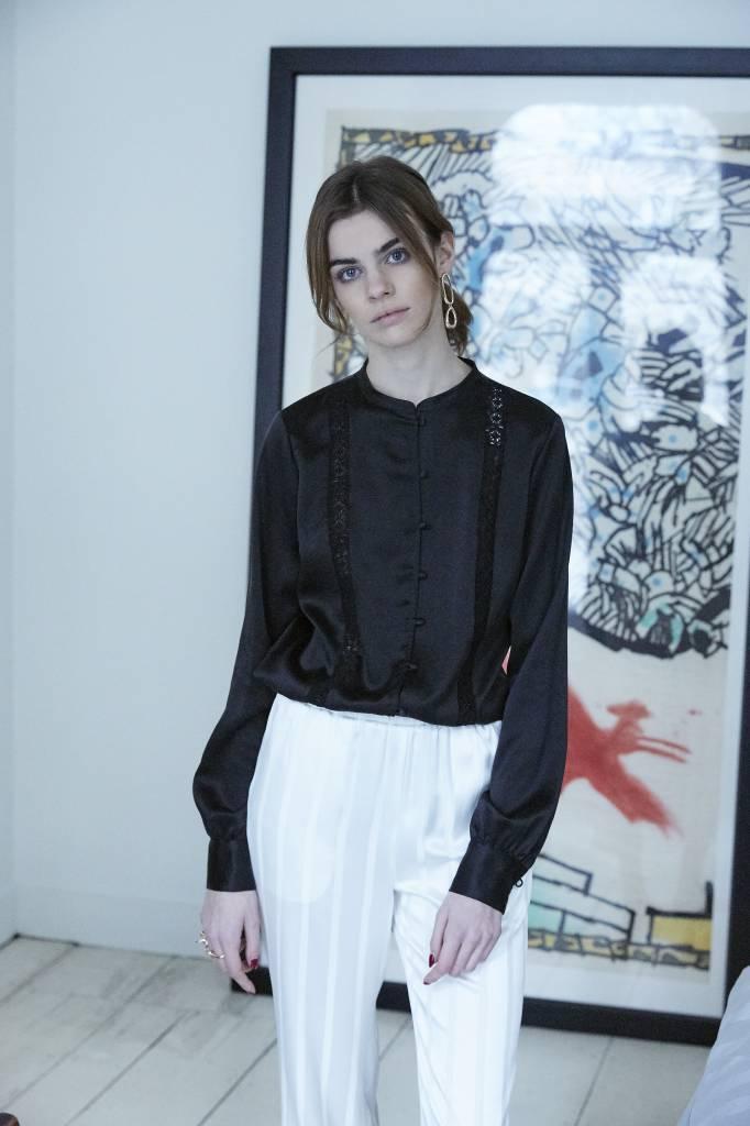La Collection Aman pants off-white