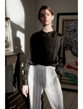 La Collection Gabrielle blouse black