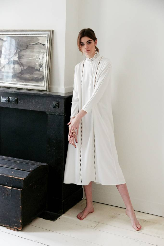 La Collection Aeryn dress off-white