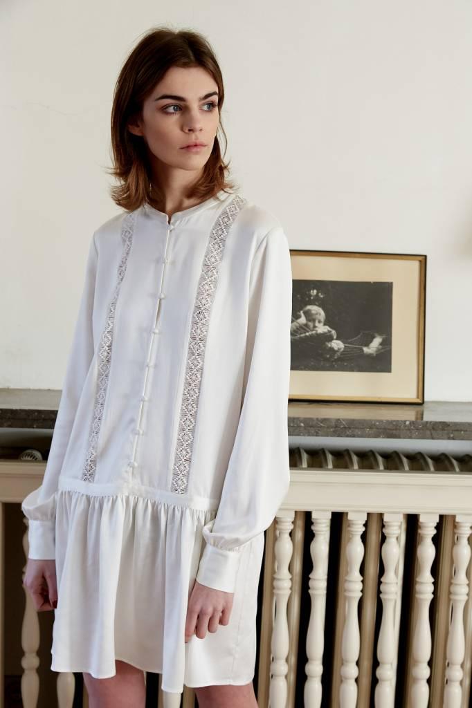 La Collection Eleonor dress off-white