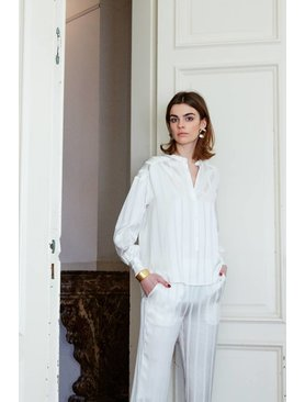 La Collection Odette blouse off-white