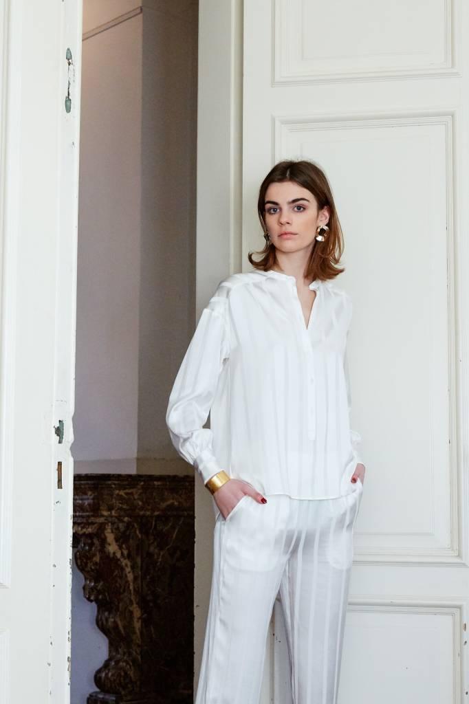 La Collection Odette blouse off-white
