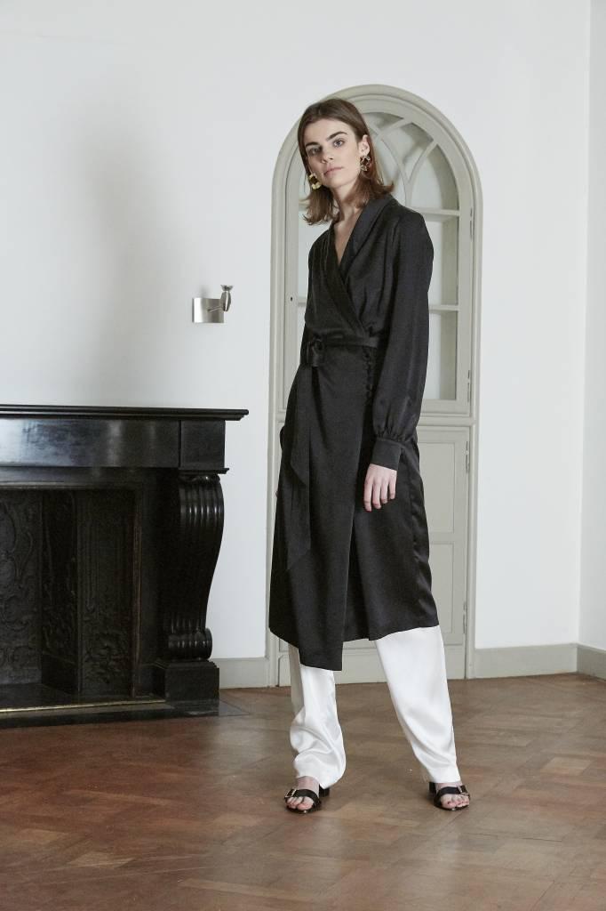 La Collection Aman pants long off-white