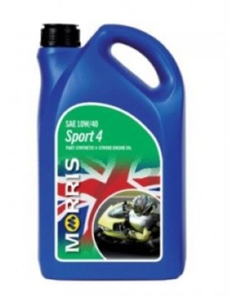 Morris Morris 10w-40 oil  Part Synthetic 4L