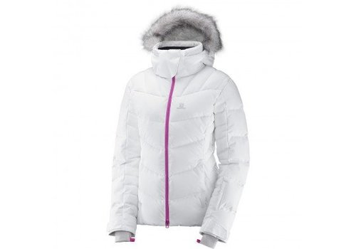SALOMON ICETOWN WOMENS JACKET White Heather