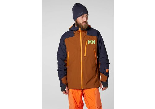HELLY HANSEN STUBEN JACKET Cinnamon