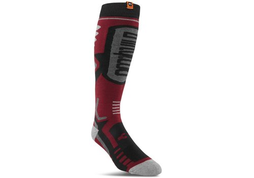 THIRTYTWO PERFORMANCE SOCK Oxblood