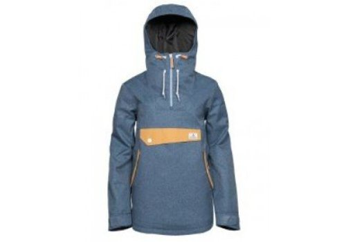 WEAR COLOUR RECRUIT ANORAK Denim Blue