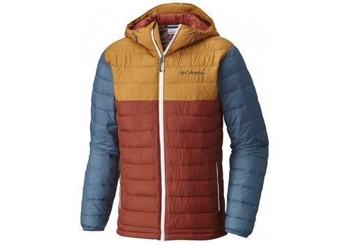 COLUMBIA POWDER LITE Hood Jkt Rusty