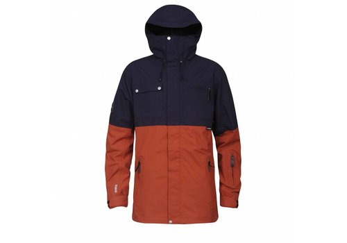 PLANKS FEEL GOOD JACKET Burnt Orange