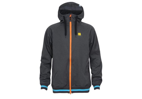 PLANKS REUNION SOFT SHELL JACKET Charcoal