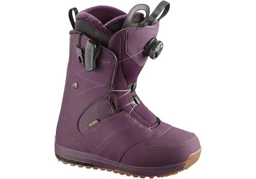 SALOMON IVY BOA STR8JKT Bordeaux