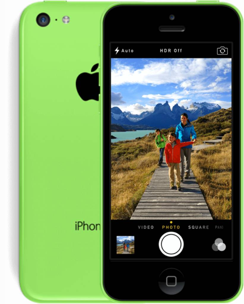 iPhone iPhone 5C 32gb Groen