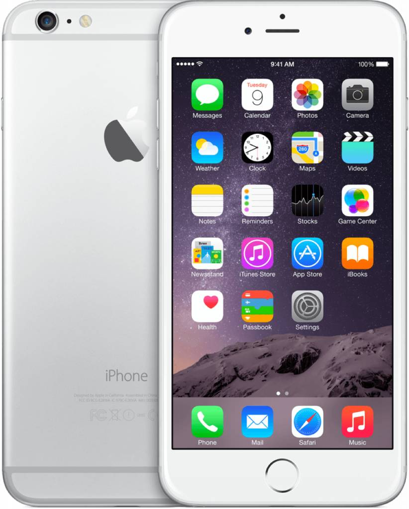 iPhone iPhone 6 Plus 64gb Zilver