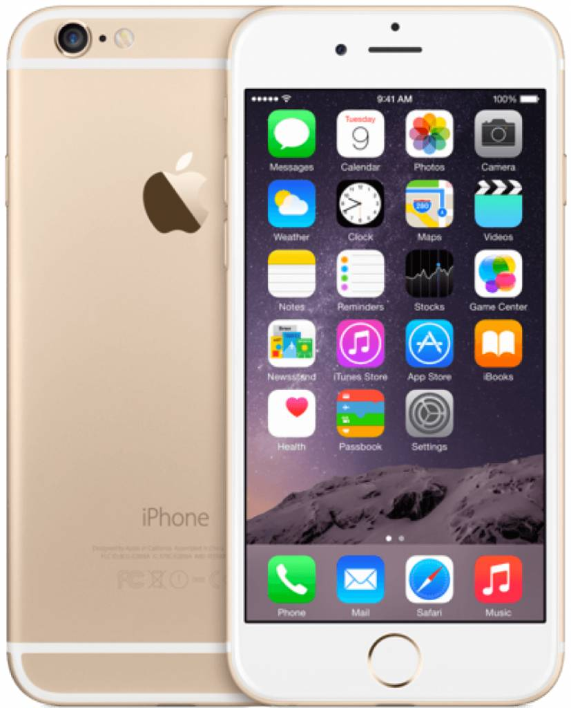 iPhone iPhone 6 Plus 128gb  Goud