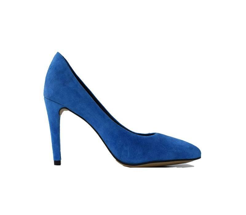 Pump Julie Koningsblauw