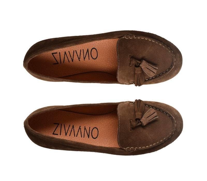 Brown loafers Karina
