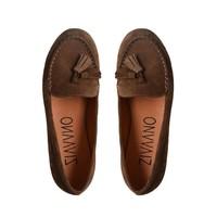 Bruine loafer Karina