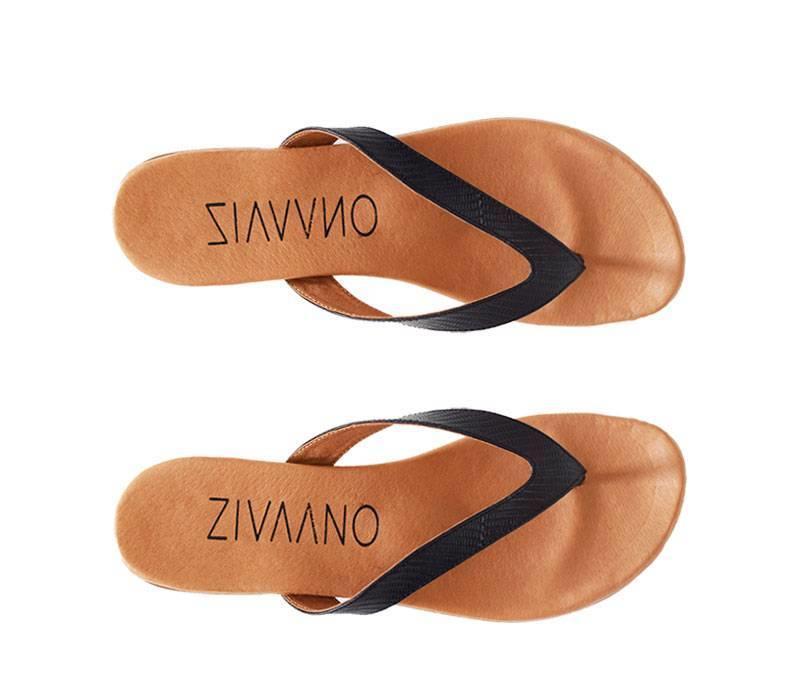 Zwarte slipper Bernice