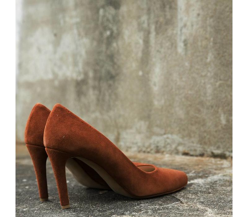 Brown/ cognac heels Lotte