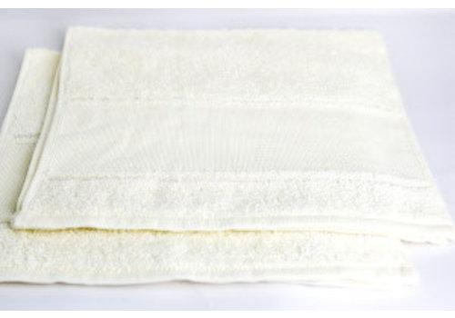 Hemline Gastendoek gebroken wit