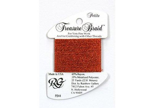 Rainbow Gallery Treasure Braid Autumn Red