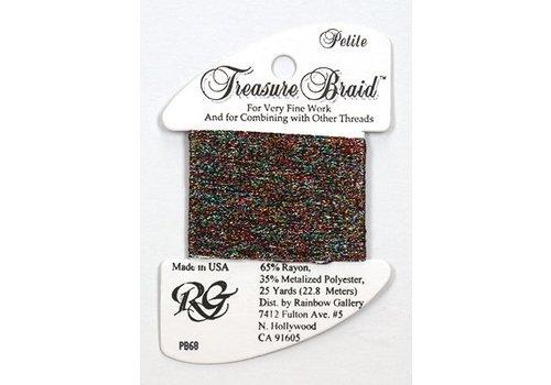 Rainbow Gallery Treasure Braid Black Opal
