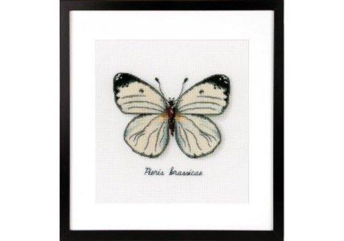 Vervaco La Maison Victor - Witte vlinder