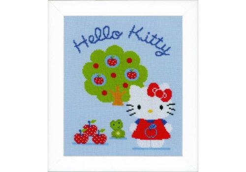 Vervaco Hello Kitty met appelboom