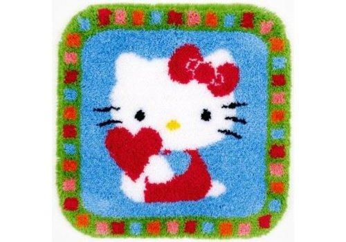 Vervaco Hello Kitty hartje