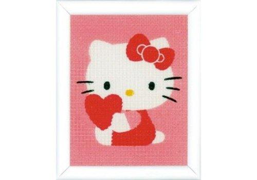 Vervaco Hello Kitty met hart