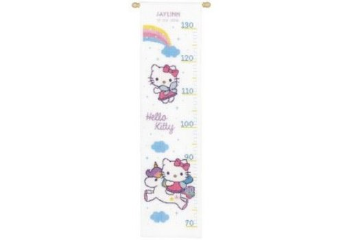 Vervaco Groeimeter Hello Kitty regenboog Jaylinn