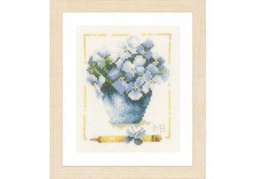Lanarte Pot met viooltjes